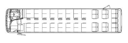 貸切バス座席表
